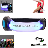 Silicone Flashing Safety LED Armband Light