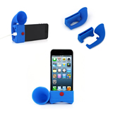 Silicone Loud Speaker With Phone Holder