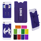 Silicone Mobile Wallet with Stand