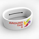 Silicone bracelet with Key slit
