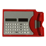 Solar calculator/Business Card Holder