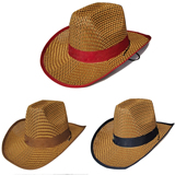 Straw Cowby hat