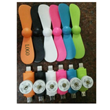 T-Shape 2 in1 Cellphone Mini Fan