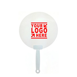 Transparent Plastic Hand Fan