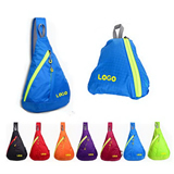 Triangle foldable Cross Body Backpack