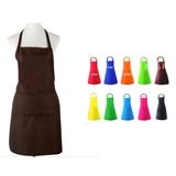 Uniform cloth sleeveless apron
