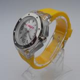 Unisex Quartz Silicone Watch