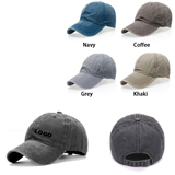 Washed Cotton Twill Caps