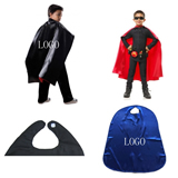 Youth Super Hero Cape w/ Velcro Strap
