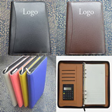 Zippered Padfolio with calculater